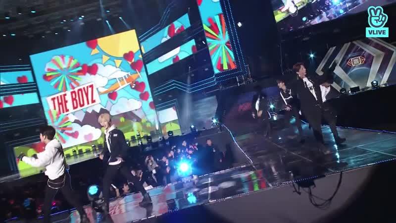 The Boyz - KeePer @ 2018 Asia Song Festival 181009