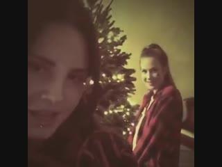 Lana Del Rey and Chuck Grant - Santa Baby