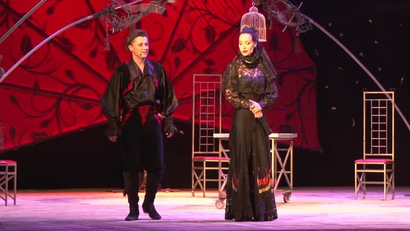 Мюзикл-оперетту Собака на сене показали в Солигорске
