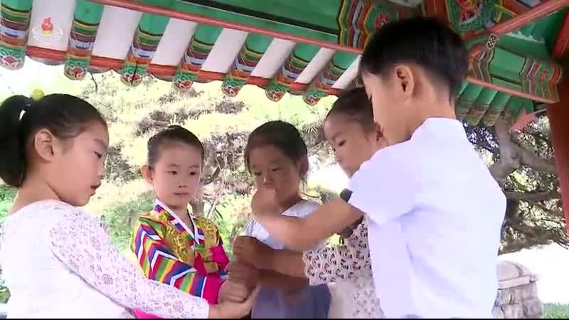 어린이민속놀이 -보물쪽지놀이-