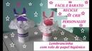 Lembrancinha de rolo de papel higiênico,fácil,aniversario,festa,decoração,reciclagem, artesanato