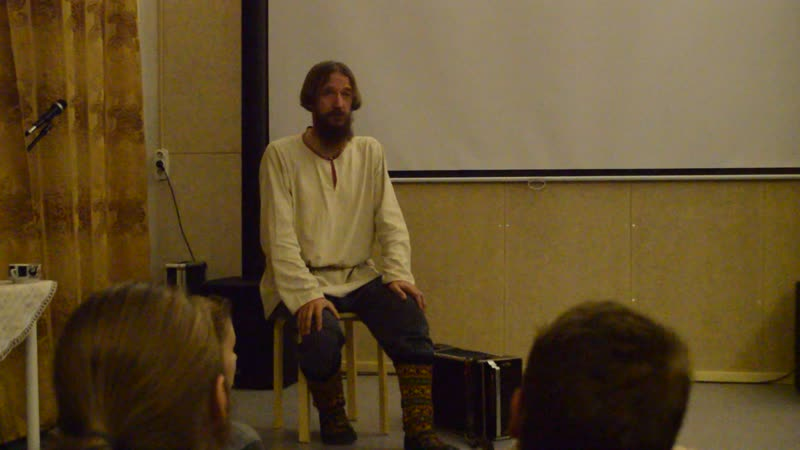 «Живые cта́рины» Сказитель Александр Маточкин сказывает cта́рины (былины) в аутентичной манере севернорусских сказителей.