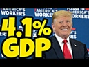 So much for those expert predictions - Trump's economy hits 4.1% - 07/27/18