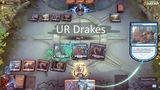 UR Drakes. MTG Arena Constructed.