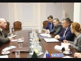 Игорь Зубов встретился с комиссаром Африканского союза по вопросам мира и безопасности Смаилом Шерги