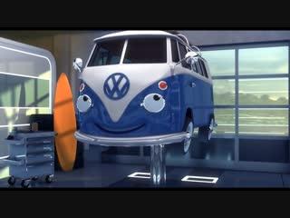 Volkswagen Cartoon