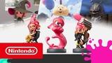 Splatoon 2 трейлер фигурок amiibo Осьмолингов (Nintendo Switch)