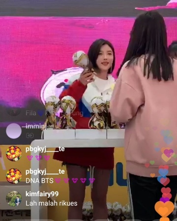 "@maimailoveyu on Instagram: "", 🌸🌸🌸🌸🌸🌸🌸🌸🌸🌸🌸🌸🌸🌸🌸🌸🌸🌸🌸 ユジョンちゃん😍💕 19.03.16 FILA IG Live so pretty😘 【BTS DNA】 🌸🌸🌸🌸🌸🌸🌸🌸🌸🌸🌸🌸🌸🌸🌸🌸🌸🌸🌸 gilohsol 김유정 金裕貞 キ..."
