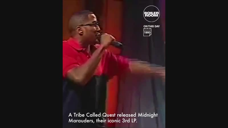 Boiler Room On This Day | A Tribe Called Quest Midnight Marauders