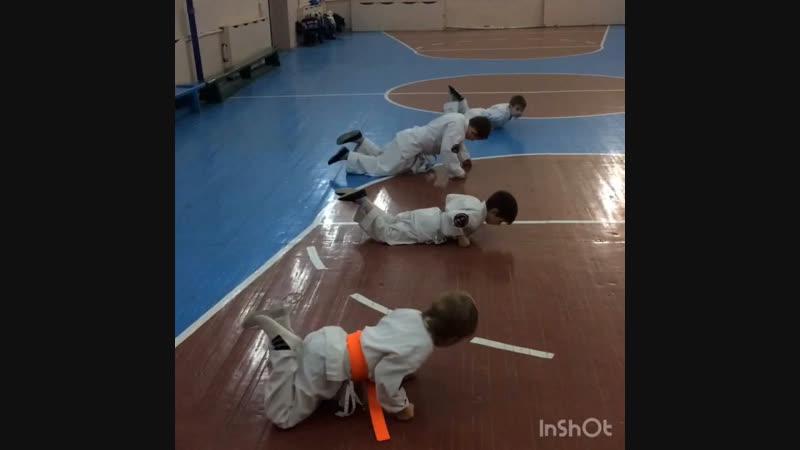 СК Воин, младшая группа. ОФП
