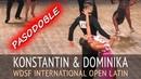 Konstantin Gorodilov & Dominika Bergmannova | Пасодобль | WDSF Int Open - Кубок Империи 2018