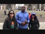 #SBMKV_Video Саша Бэнкс, Бейли и Тайтус О'Нил в Кёльне, Германия.