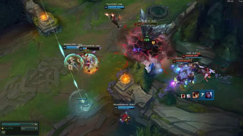 Teamfights (FNATIC LVL)
