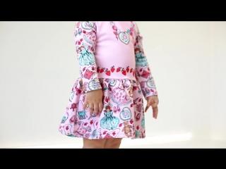 ПЛ-122 Платье Марьяна (футер-дижиталь)