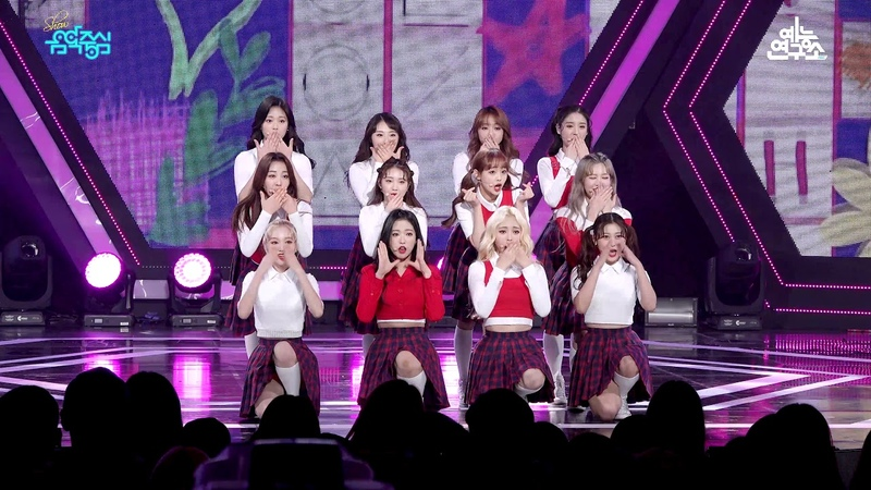 [예능연구소 직캠] 이달의 소녀 Hi High @쇼!음악중심_20181013 Hi High LOONA in 4K