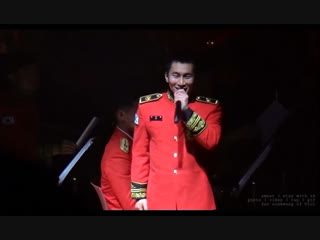 [FANCAM] 27.11.2018: Ынкван - Don't Worry (Reply 1988 OST Cover) @ Military Band Concert