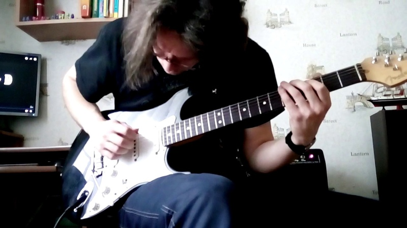 Funky improvisation in Am (Dorian mode)/Импровизация в Am (Дорийский лад)