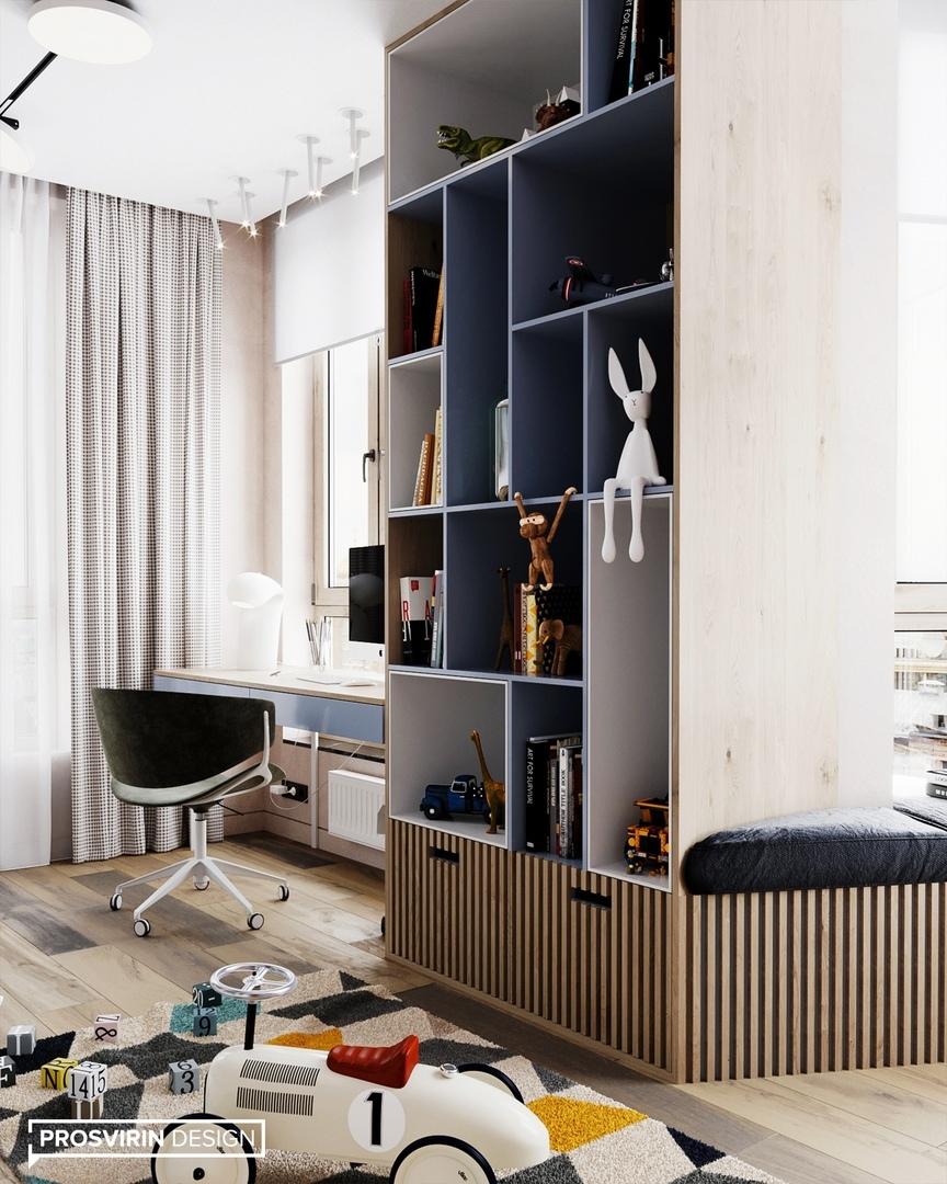 Дизайн квартиры в Москве, 80 кв.