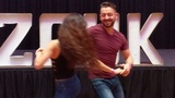 SSZF2018 Christina &amp Alisson in Friday workshop demo ~ Zouk Soul