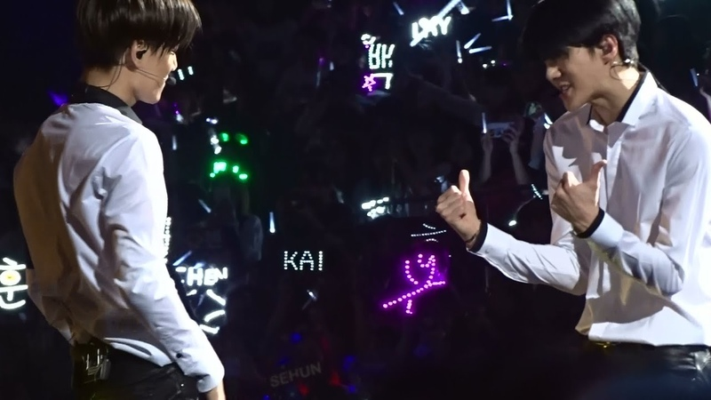150531 EXO'luxion in SHANGHAI playboy (KAI focus)