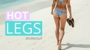 HOT LEGS WORKOUT - Toned Thighs Calves | Rebecca Louise