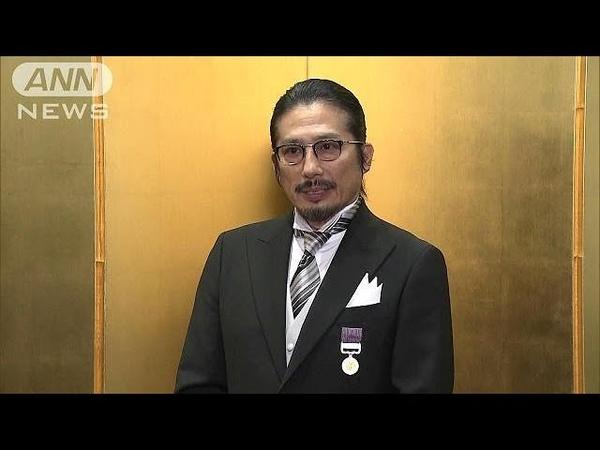 【報ステ】秋の褒章 真田広之さん・羽生善治さんら(18/11/14)