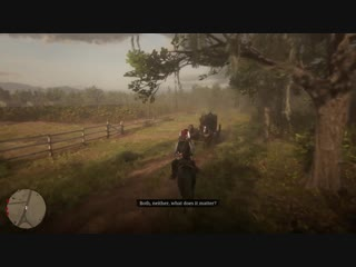 When you try to knock dutch off his horse. red dead redemption 2