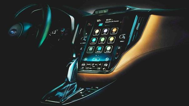 Subaru готовит к премьере новый Legacy (первые изображения).
