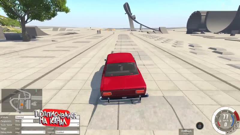 [Draken] Максимальная СКОРОСТЬ VS лежачие полицейские! BeamNG Drive