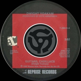Dwight Yoakam альбом Guitars, Cadillacs / I'll Be Gone [Digital 45]