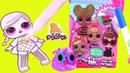 ВОЛШЕБНЫЙ МАРКЕР - КУКЛЫ ЛОЛ! Imagine Ink LOL Coloring Book for Kids Раскраска Видео для Детей