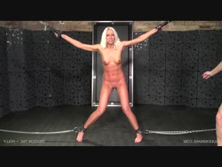 Dragon tail - holly (12.05.2018), queensnake, bdsm, bondage, torture, sadism, pee, rubber, speculum, whipping