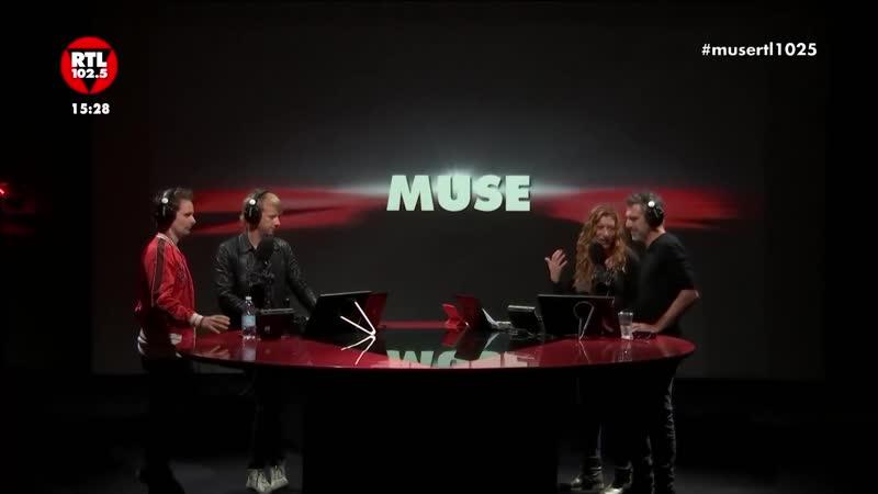 Muse at RTL 102.5 2018
