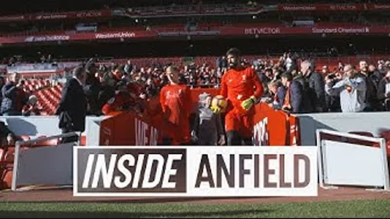 Inside Anfield Liverpool 4 1 Cardiff City Exclusive tunnel cam from the Reds convincing win