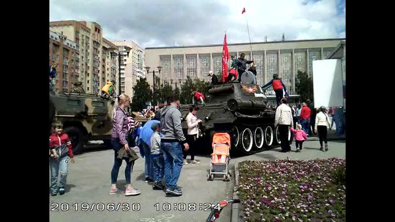 Передвижной пункт отбора службы по контракту в Новосибирске