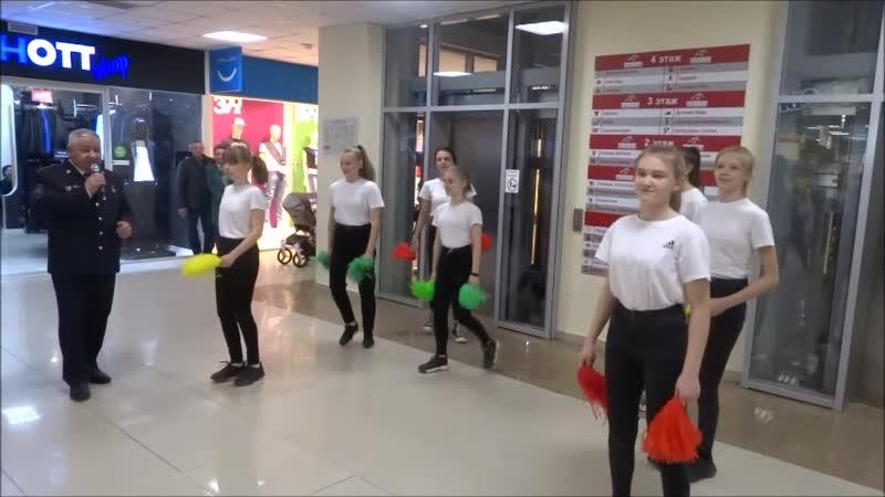 В одном из торговых центрах столицы Ставропольского края накануне прошёл флэш-моб в поддержку всероссийской социальной кампани