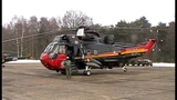 Start-up Seaking Mk.48 RS05 at Kleine Brogel airbase