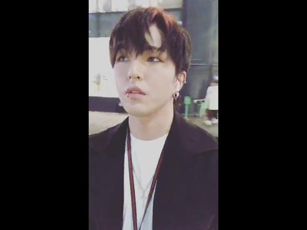 180929 dob Park Jin Facebook live 디오비 박진 페이스북 라이브