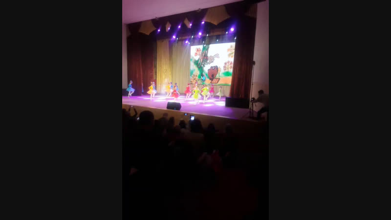 отчетный концерт у детей Dance Life