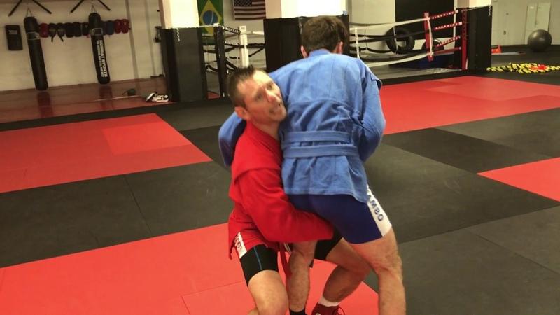 Sambo takedowns with Vlad Koulikov