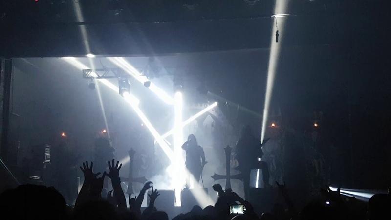 Watain - Sworn to the Dark - São Paulo 18/01/19 - Brasil