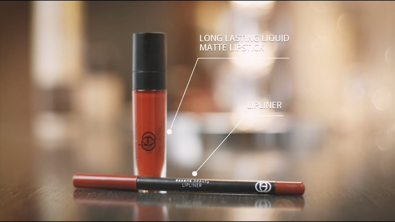 ESSENS BEAUTY / Long Lasting Matte Lipstick / Lip liner