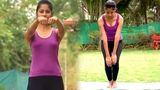 Manibandha Chakra Yoga Wrist Joint Rotation &amp Knee Rotation - Power Yoga Routine for Beginners