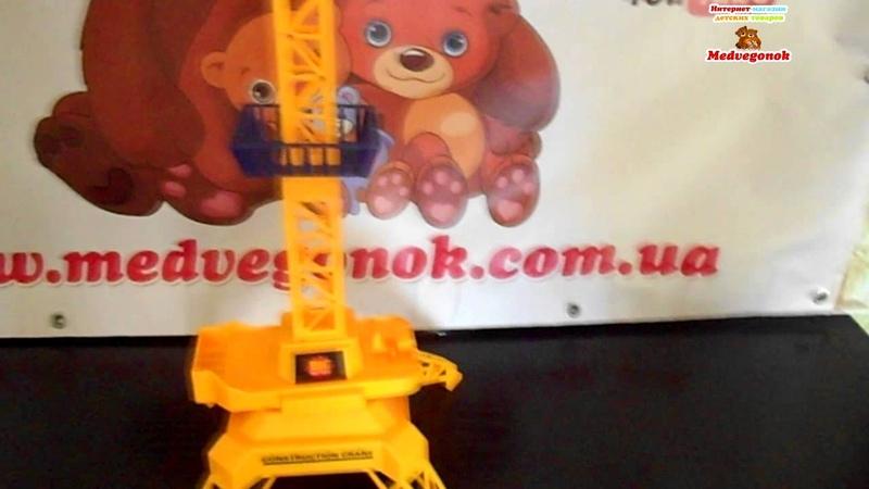 Видеообзор Кран BIG MOTORS на пульте управления игрушка, 9898 Цены, фото, отзывы, описание.