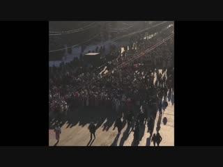 Толпа зомби в Чебоксарах. ШОК!