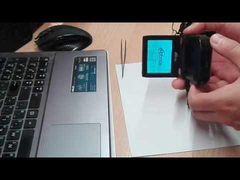 Видеорегистратор Ritmix AVR-300 карта защищена ремонт.