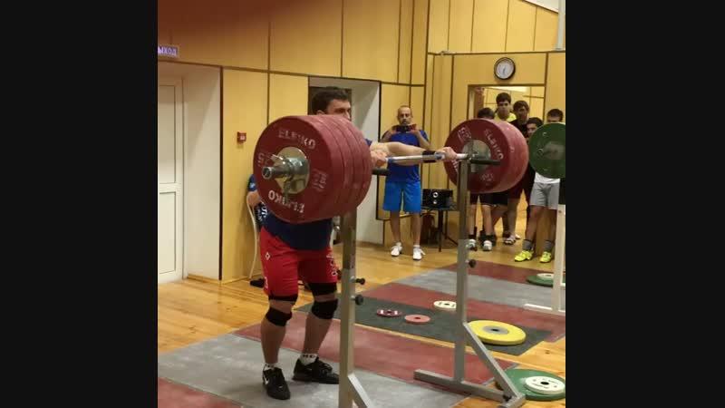 Дмитрий Клоков - 225 на 3