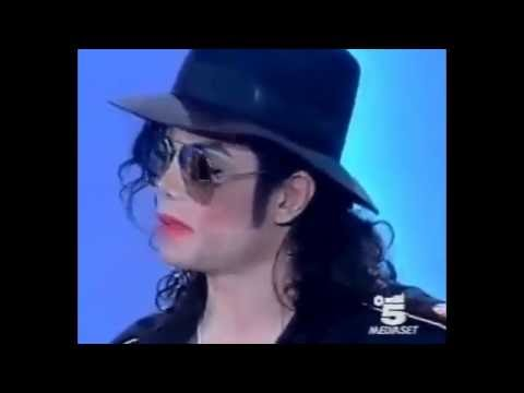 Michael Jackson doesn't understand a word they're say but plays it off like he does (LOL)