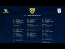 Sky Bet League 1 2018-19 | 02.10.18 | Oxford United - Luton Town