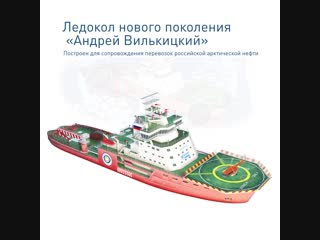 2018. Ледокол «Андрей Вилькицкий» причалит в Петербурге